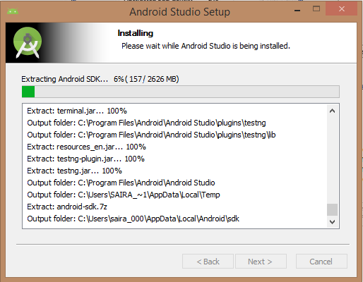 Web Tutorial - Android - Andriod Studio Setup Guide
